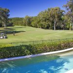 Pool & Fairway Views from Golf Villa 757